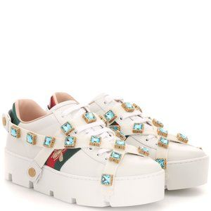 [BNIB] Gucci New Ace leather sneakers Size 6